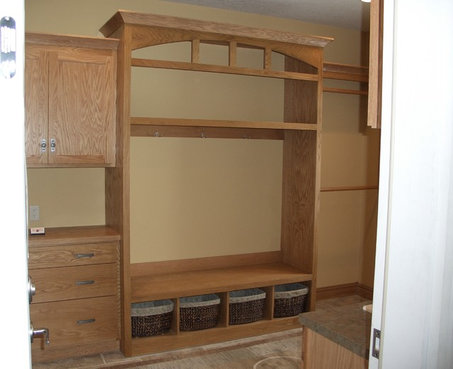 Silver Leaf Cabinets traditional home office