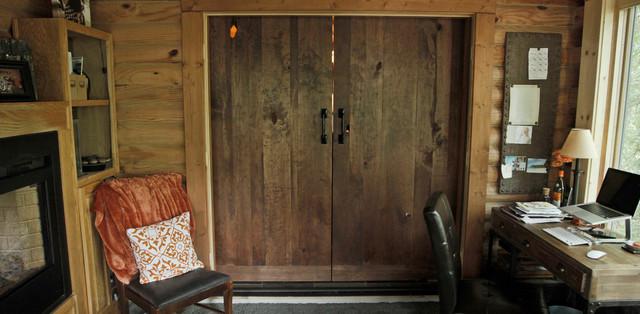 20 Home Offices With Sliding Barn Doors Sliding Barn Doors Home