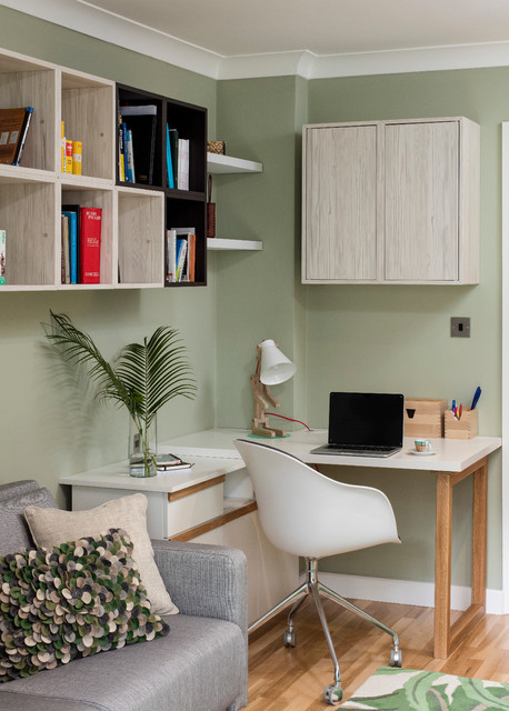 Small Bedroom   Transitional   Home Office U0026 Library   Dublin   By Black  Fox Interiors