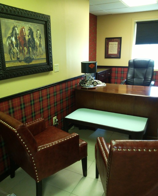 Small Pastor S Office Traditional Home Office Detroit By Kathleen Townsend