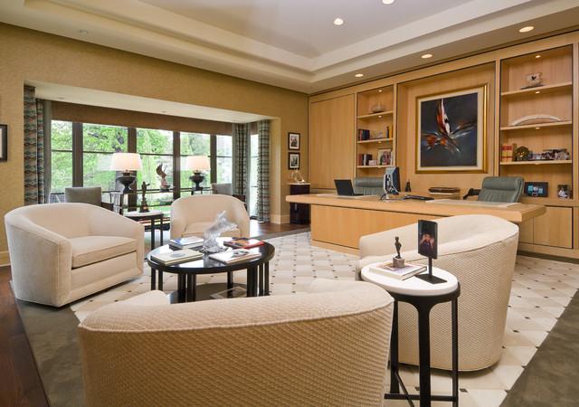 Soft Contemporary contemporary-home-office