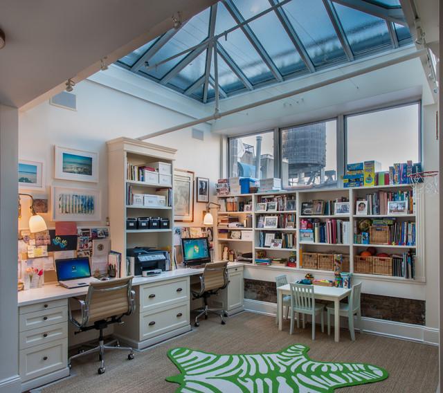SoHo Loft clasico-renovado-despacho