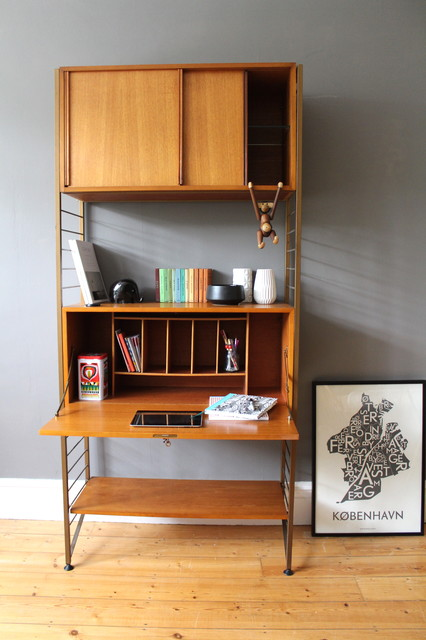 Sold mid century ladderax modular shelving system - Home library shelving system ...
