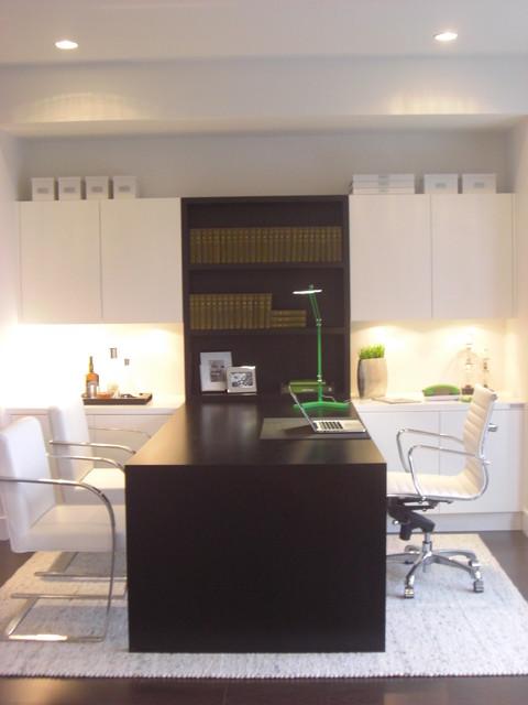 Solo David contemporary-home-office