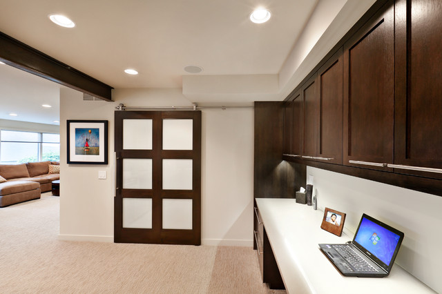 ... - Contemporary - Home Office - seattle - by Carlisle Classic Homes