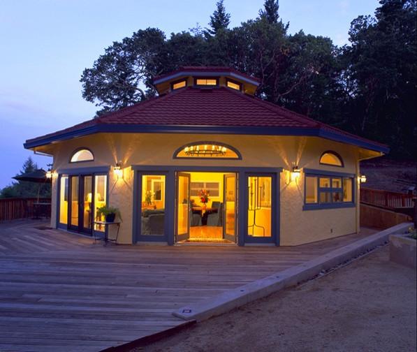 Sonoma Residence Mediterranean Home Office San
