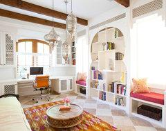 Southampton Moroccan mediterranean-home-office