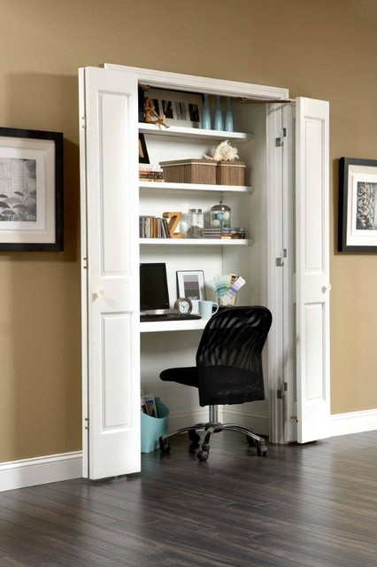 Space saving ideas Closet home office design ideas