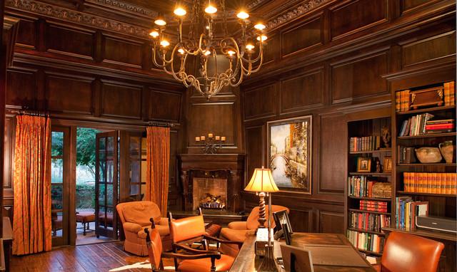 Spanish Villa Rustic Home Office Phoenix By