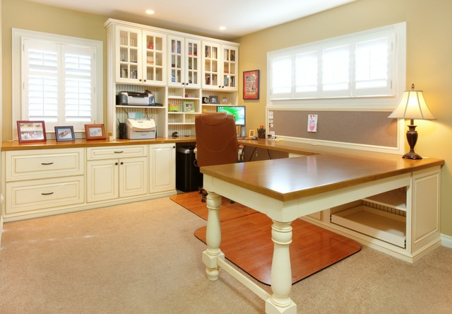 Work Station Home Office Traditional Home Office