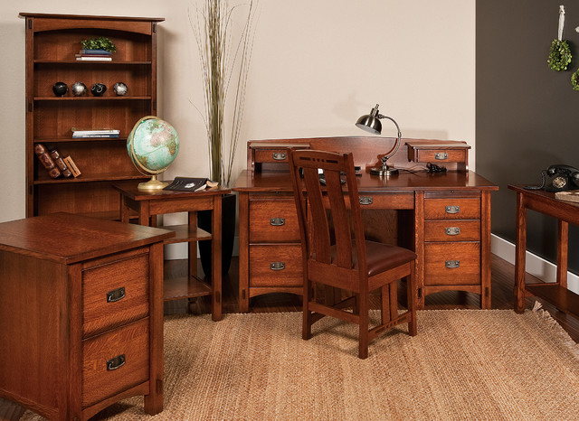 Spring Hill Office Collection Craftsman Home Office