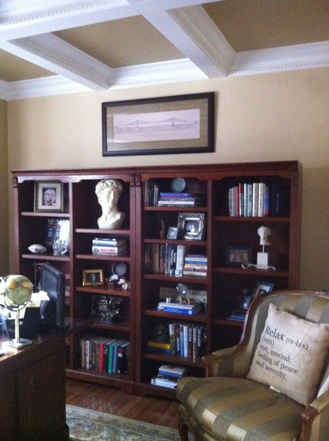 Spring Makeover traditional-home-office
