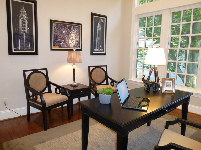 High Quality Spring Vale McLean, VA  Staged Office Traditional Home Office