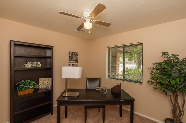 Staged Home Office In Phoenix Home Office