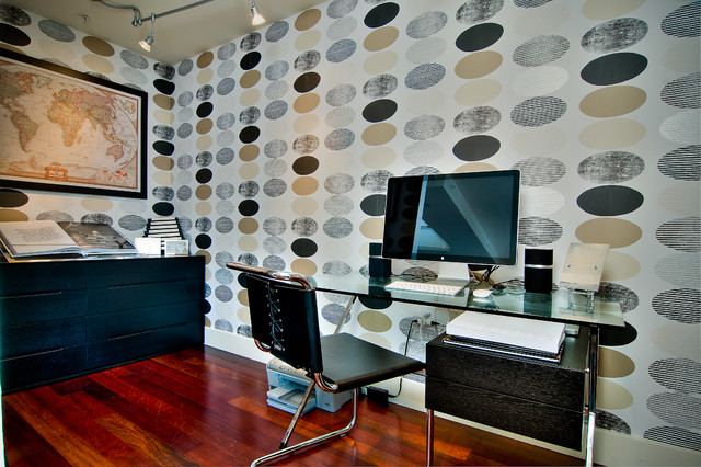 Stairway to Style Heaven contemporary-home-office