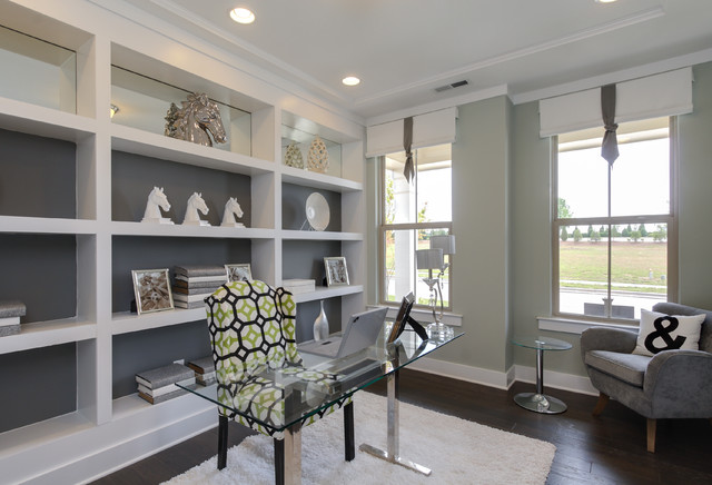 Standard Pacific Homes - Victoria Model - Contemporary - Home Office - raleigh - by Tad Davis ...