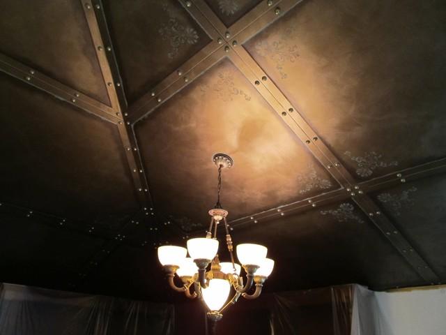 Steampunk Ceiling Modern Home Office
