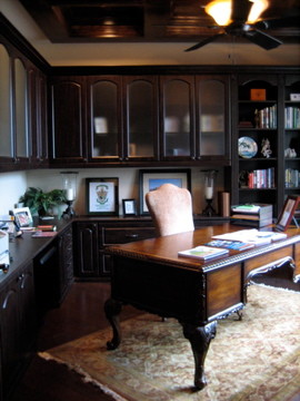 Steiner Ranch Office Traditional Home Office Austin
