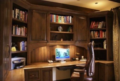 Studies traditional-home-office