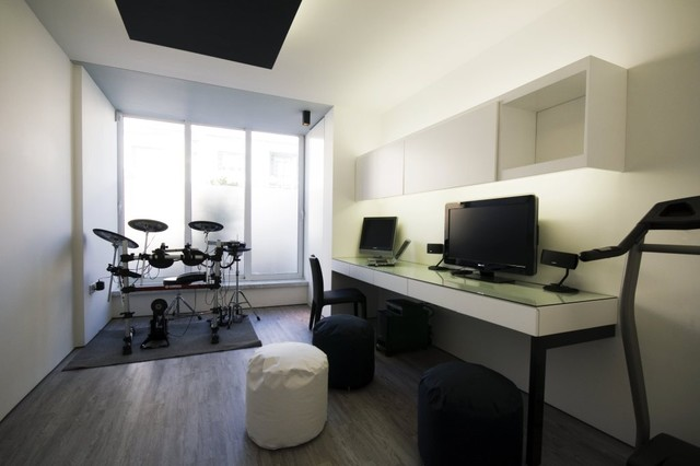 Study music room for Contemporary house music