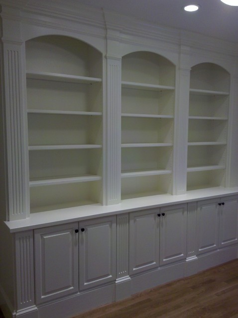 Study Home Office Built Ins Traditional Home Office