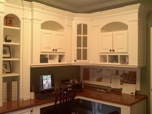 Study / Home Office Built Ins - Traditional - Home Office ...