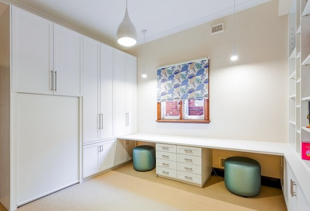 study office modern home office perth by fairlane cabinet