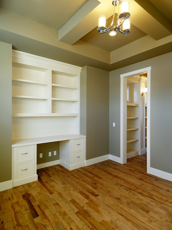 Built in desk design ideas pictures remodel and decor Built in home office designs