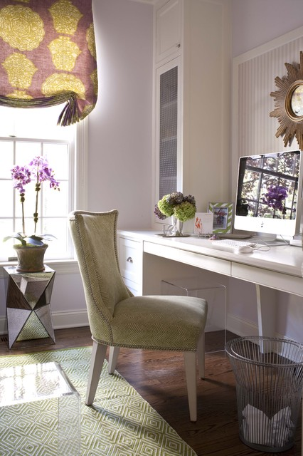 Sue De Chiara's home transitional-home-office