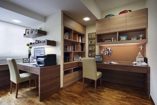 Summer Gardens modern home office