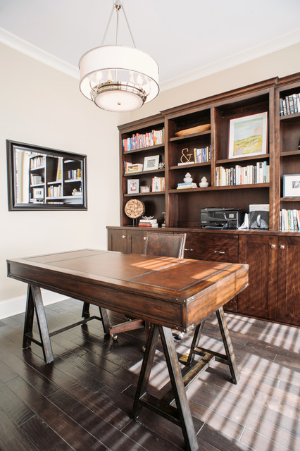Summit Signature Homes Inc Traditional Home Office