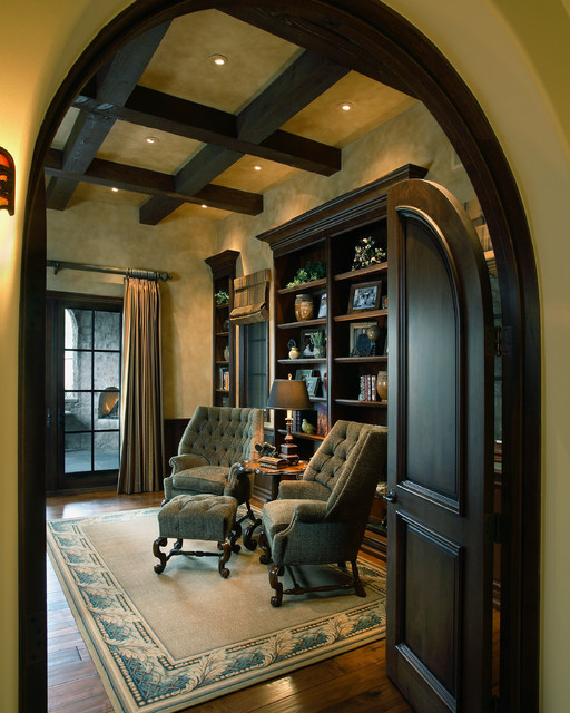 Superstition Mountain Traditional Mediterranean Home