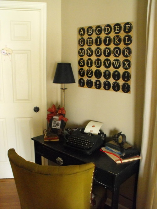 Susie Harris eclectic home office