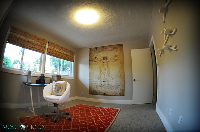 SW 45th eclectic-home-office