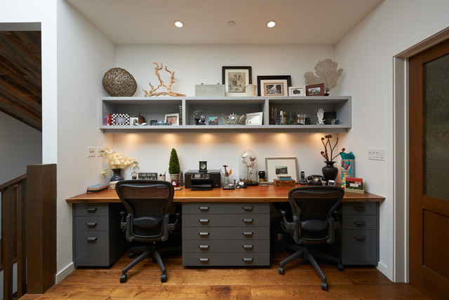 Nice Sycamore Rd Contemporary Home Office, Los Angeles