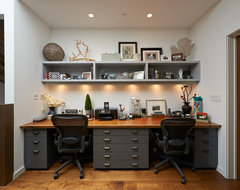 Sycamore Rd contemporary-home-office