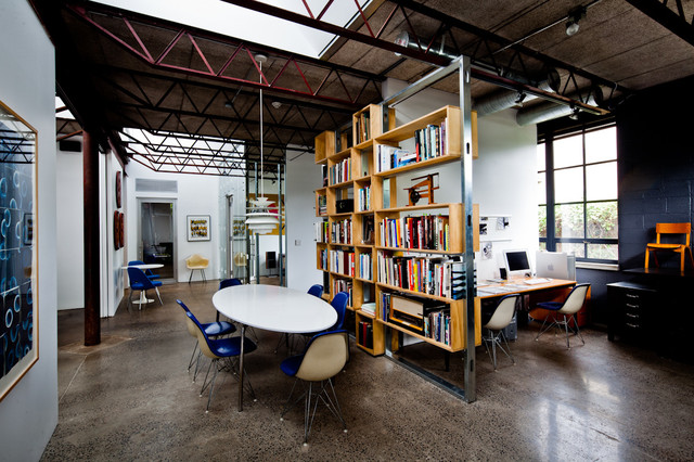 Symbol New York Studio Before After Home Office And Library