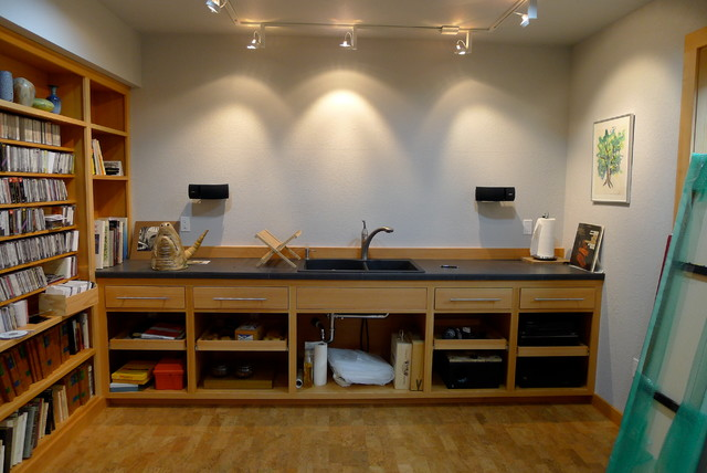 Tabor Art Studio Contemporary Home Office Portland