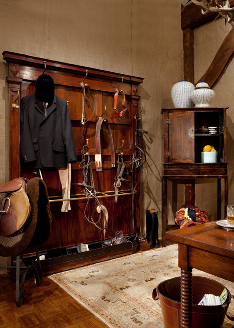 Tack Room Traditional Home Office Boston By Finn