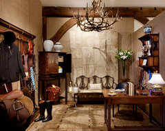 Tack Room traditional home office
