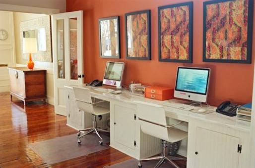 Tara Guerard contemporary home office