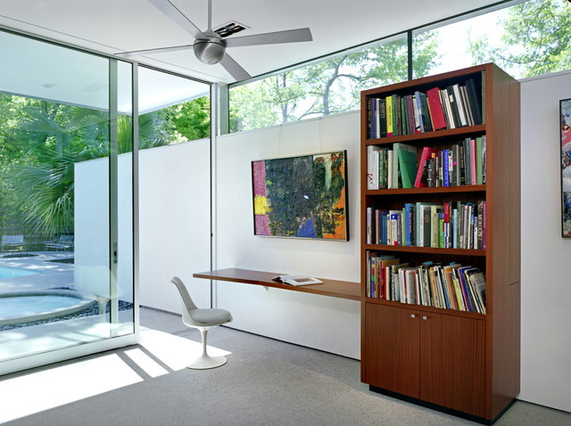 Tarrytown Pavilion modern home office