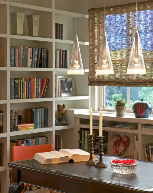 tarrytown traditional contemporary home office