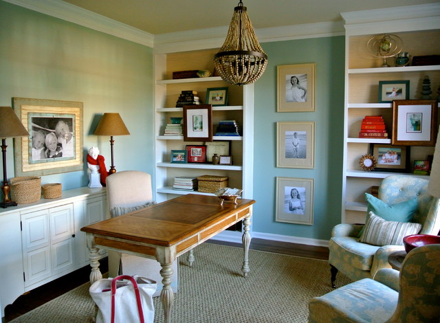 Tauton Drive Eclectic Home Office Charlotte By The