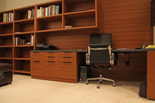 Teak Wood Office Furniture modern-home-office