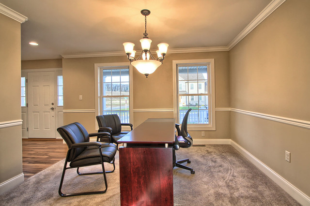 The Amherst at Orchard Glen contemporary-home-office