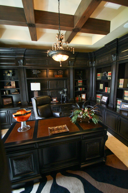The Ashby Manor traditional-home-office