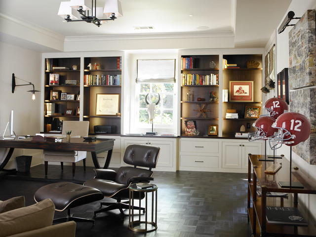 the design atelier contemporary home office atlanta by the