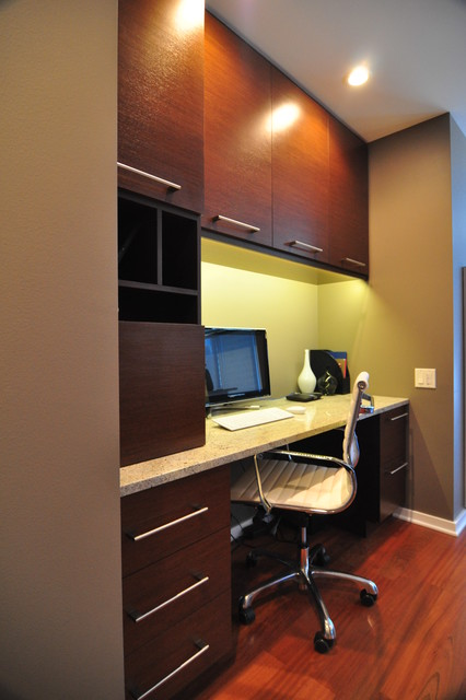The Fairbanks at City Front Plaza contemporary-home-office