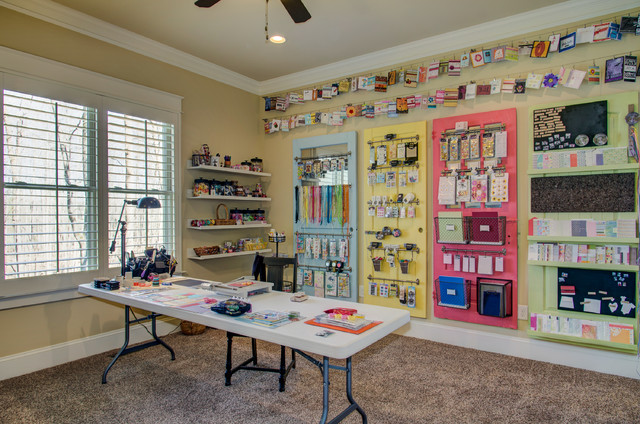 The greenwich traditional home office raleigh by for Collins design build